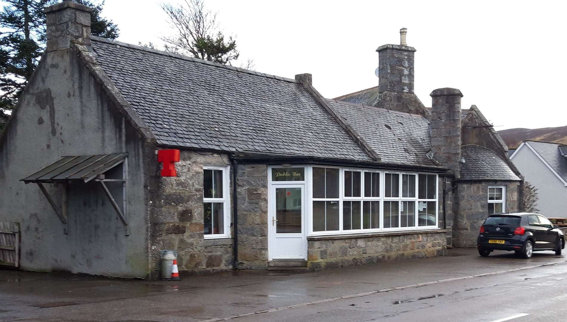 The Pittentrail Inn provided a hub for the Rogart community prior to its closure.
